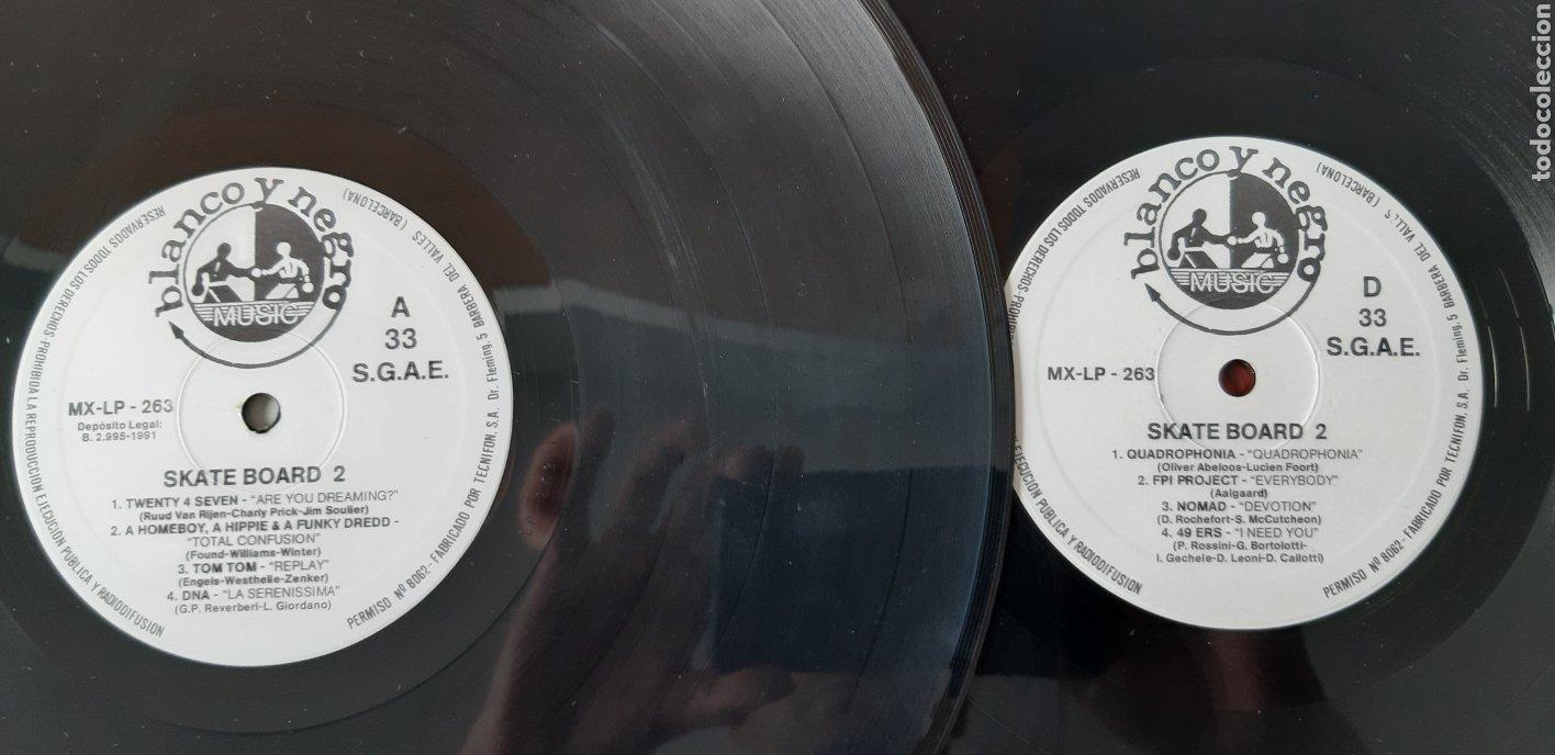 Discos de vinilo: LP DOBLE. Skate Board 2. - Foto 5 - 178571653