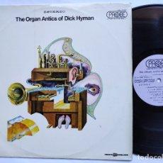 Discos de vinilo: DICK HYMAN – LP ECUADOR PS - THE ORGAN ANTICS OF DICK HYMAN . Lote 178571658