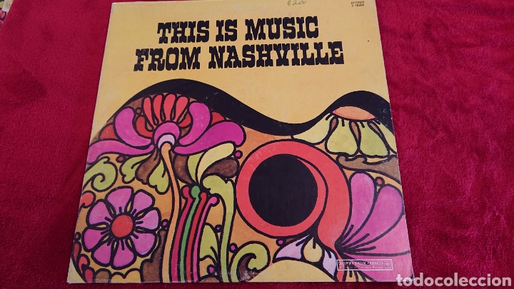 LP THIS IS MUSIC FROM NASHVILLE 1971 (Música - Discos - LP Vinilo - Otros estilos)