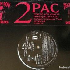 Discos de vinilo: 2PAC - HOW DO YOU WANT IT - 1996. Lote 178574062