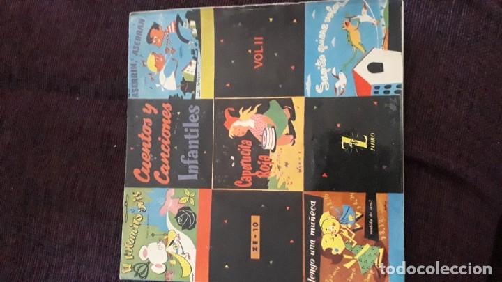 Discos de vinilo: DISCO INFANTIL CUENTOS Y CANCIONES - ZAFIRO - Foto 2 - 178578095