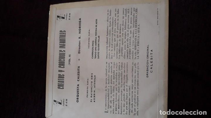 Discos de vinilo: DISCO INFANTIL CUENTOS Y CANCIONES - ZAFIRO - Foto 3 - 178578095