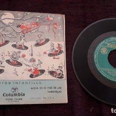 Discos de vinilo: DISCO INFANTIL CUENTOS - COLUMBIA . Lote 178579516