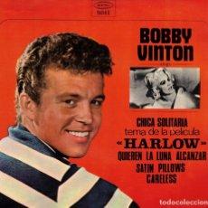 Discos de vinilo: BOBBY VINTON - CHICA SOLITARIA + 3 - EP SPAIN 1966. Lote 178579652