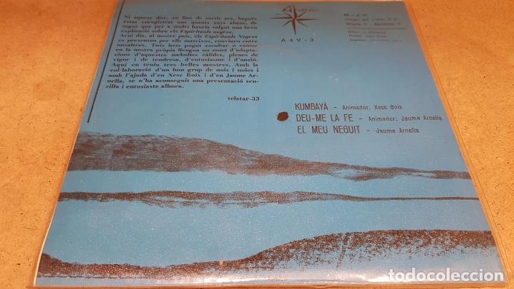 Discos de vinilo: ESPIRITUALS NEGRES / XESC BOIX - JAUME ARNELLA / EP - TIC-1970 / MBC. ***/*** - Foto 2 - 178583228