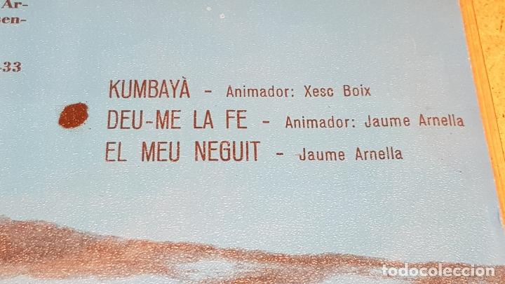 Discos de vinilo: ESPIRITUALS NEGRES / XESC BOIX - JAUME ARNELLA / EP - TIC-1970 / MBC. ***/*** - Foto 3 - 178583228