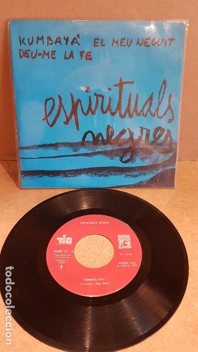 ESPIRITUALS NEGRES / XESC BOIX - JAUME ARNELLA / EP - TIC-1970 / MBC. ***/*** (Música - Discos de Vinilo - EPs - Country y Folk)