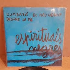 Discos de vinilo: ESPIRITUALS NEGRES / XESC BOIX - JAUME ARNELLA / EP - TIC-1970 / MBC. ***/***. Lote 178583228