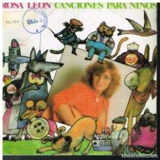 Discos de vinilo: ROSA LEON - AY PALOMA / CANCION DE CUNA PARA JULIA - SINGLE 1983 - PROMO. Lote 178583368