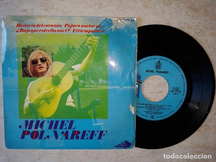 MICHEL POLNAREFF. HISTORIA DEL CORAZON.ETC..1966 DISC AZ HISPAVOX (Música - Discos de Vinilo - EPs - Rock & Roll)