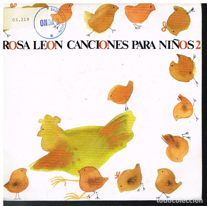 ROSA LEON - VENGAN A VER MI GRANJA / LA MONA JACINTA / AY DEL CHIQUIRRITIN + 1 - EP 1988 (Música - Discos de Vinilo - EPs - Solistas Españoles de los 70 a la actualidad)