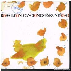 Discos de vinilo: ROSA LEON - VENGAN A VER MI GRANJA / LA MONA JACINTA / AY DEL CHIQUIRRITIN + 1 - EP 1988. Lote 178584435