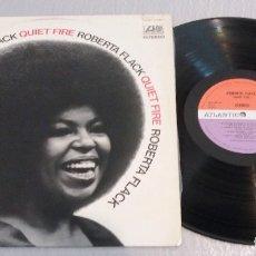 Discos de vinilo: ROBERTA FLACK / QUIET FIRE / LP. Lote 178588348