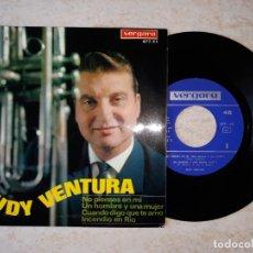 Discos de vinilo: RUDY VENTURA.NO PIENSES EN MI. ETC..DISCO VERGARA 1967.. Lote 178590820
