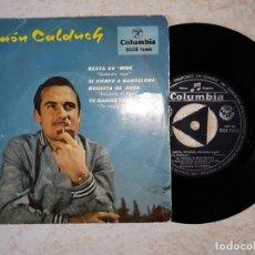Discos de vinilo: RAMON CALDUCH Y SU ORQUESTA. SI VIENES A BARCELONA. ETC..COLUMBIA 1959.. Lote 178592058
