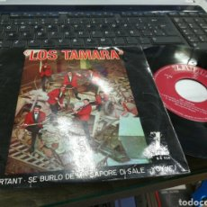 Discos de vinilo: LOS TAMARA EP Y POR TANTO ''ET POURTANT'' + 3 1964. Lote 178593731