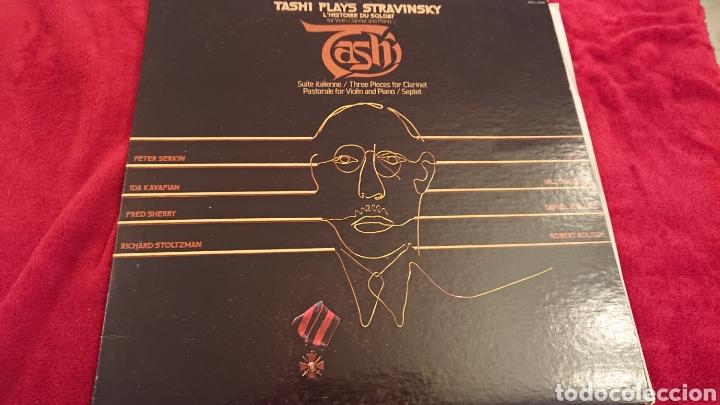 LP PLAYS STRAVINSKY (Música - Discos - LP Vinilo - Clásica, Ópera, Zarzuela y Marchas)