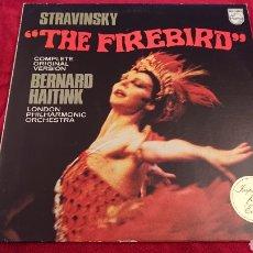 Discos de vinilo: LP STRAVINSKY _, THE FIRE BIRDS. Lote 178594515