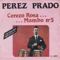 Discos de vinilo: PEREZ PRADO,CEREZO ROSA DEL 81. Lote 178596783