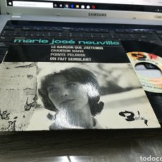 Discos de vinilo: MARIE JOSÉ NEUVILLE EP LE GARCON QUE J'ATTENDS + 3 FRANCIA 1965. Lote 178598770