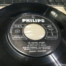 Discos de vinilo: JOHNNY HALLYDAY EP SÓLO VINILO TES TENDRES ANNEES + 3 ESPAÑA 1963. Lote 178600613