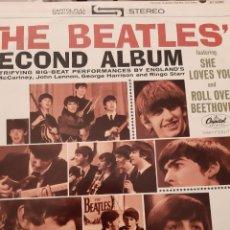 Discos de vinilo: LP THE BEATLES SECOND ÁLBUM 1964 USA. Lote 178601376