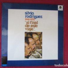 Disques de vinyle: SILVIO RODRIGUEZ - AL FINAL DE ESTE VIAJE. Lote 178604766