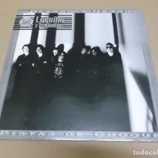 Discos de vinilo: LOQUILLO Y TROGLODITAS (MAXI) BLANCO Y NEGRO + 2 TRACKS AÑO – 1992. Lote 178605582