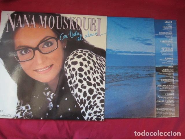 Discos de vinilo: NANA MOUSKOURI - CON TODA EL ALMA - Foto 2 - 178606218