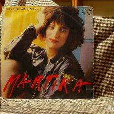 Discos de vinilo: MARTIKA ?– I FEEL THE EARTH MOVE, CBS ?– 655228 8, 1989, TEMAS EN LA DESCRIPCIÓN.. Lote 178607782