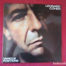 Disques de vinyle: LEONARD COHEN. Lote 178608125