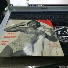 Discos de vinilo: VICKIE HENDERSON Y EL CUARTETO RADAR EP ISLAND IN THE SUN + 3 ESPAÑA 1959. Lote 178608408