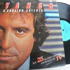 Discos de vinilo: DYANGO A CORAZON ABIERTO -SUS MEJORES 25 CANCIONES -DOBLE LP 1983. Lote 178608460