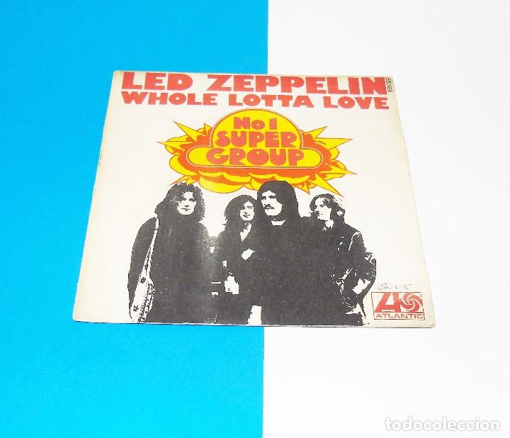 LED ZEPPELIN --- WHOLE LOTTA LOVE / LIVIN´ LOVIN´ MAID ---- -ORIGINAL AÑO 1970 --ATANTIC BLY 650186 (Música - Discos - Singles Vinilo - Pop - Rock - Extranjero de los 70)