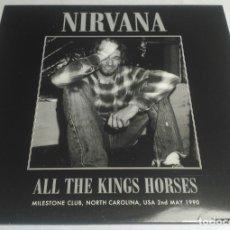 Discos de vinilo: NIRVANA – ALL THE KINGS HORSES USA-2015 LP. Lote 178561551