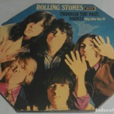 Discos de vinilo: THE ROLLING STONES – THROUGH THE PAST, DARKLY (BIG HITS VOL. 2) ENGLAND-1972 LP DECCA. Lote 178600901