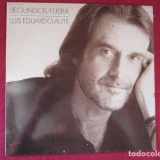 Discos de vinilo: LUIS EDUARDO AUTE - SEGUNDOS FUERA. Lote 178609248