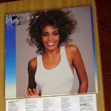 Discos de vinilo: LP WHITNEY HOUSTON WHITNEY. Lote 178611937