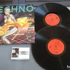 Discos de vinilo: TODO TECHNO LP CBS/SONY – COL 472781 1, - PROVIENE DE ALMACÉN DE LA DISCOGRÁFICA. IMPECABLE. Lote 178612426