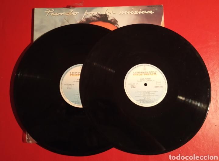 Discos de vinilo: Disco Juan Pardo LP doble Por la música - Foto 3 - 178616050