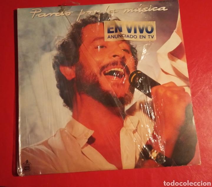 DISCO JUAN PARDO LP DOBLE POR LA MÚSICA (Música - Discos - LP Vinilo - Solistas Españoles de los 70 a la actualidad)