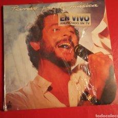 Discos de vinilo: DISCO JUAN PARDO LP DOBLE POR LA MÚSICA. Lote 178616050