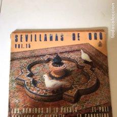 Discos de vinilo: SEVILLANAS DE ORO. Lote 178616696
