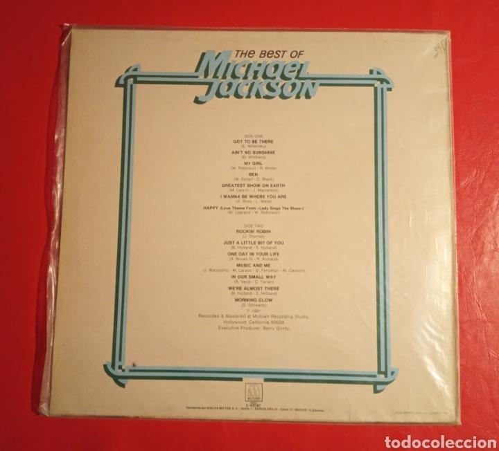 Discos de vinilo: Disco Michael Jackson The Best Of - Foto 2 - 178617457