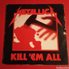 Discos de vinilo: DISCO METALLICA KILL EM ALL. Lote 178618452