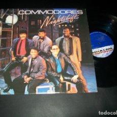 Discos de vinilo: COMMODORES - NIGHTSHIFT - LP DE MOTOWN 6124 ML. USA, 1985 - VERSION ORIGINAL - COMO NUEVO. Lote 178620441
