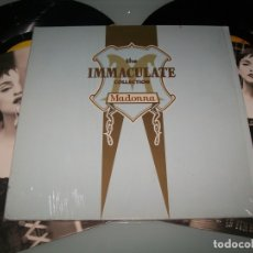 Discos de vinilo: MADONNA- THE IMMACULATE COLLECTION .. 2 LP,S - GERMANY DE PORTADA ABIERTA ORIGINAL DE 1990 . Lote 178622362