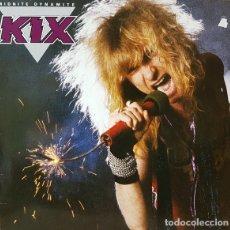 Discos de vinilo: KIX MIDNITE DYNAMITE LP EU 1985 FIRMADO. Lote 178622555