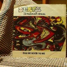 Discos de vinilo: BEATS INTERNATIONAL ?– DUB BE GOOD TO ME,LONDON RECORDS ?– 876 867-1, 1990 TEMAS EN LA DESCRIPCIÓN.. Lote 178625382