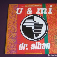 Discos de vinilo: DR. ALBAN SG LOGIC 1991 - U & MI - EURO DISCO - HOUSE - ELECTRONICA BAILE 90'S - SIN ESTRENAR. Lote 178626100